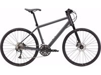 Cannondale 2017 Bad Boy 3 Hybrid Sports Bike Large Nearly Black Great condition!