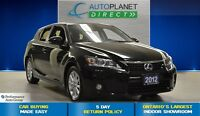 2012 Lexus CT 200h CLEAN CARPROOF + Bluetooth + Heated Seats + F