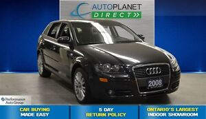 2008 Audi A3 2.0T Frontrak, Pano Roof, $89/Wk!
