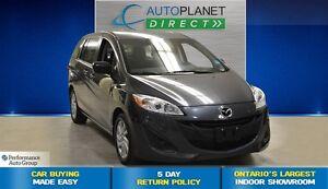 2014 Mazda MAZDA5 GS, Convenience Pkg, Bluetooth, $52/Wk!