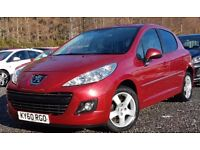 PEUGEOT 207 HDI SPORT. FULL SERVICE . Only £30 tax