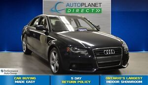 2012 Audi A4 2.0T Premium, Pano Roof, Heated Seats, $92/Wk!