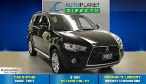 2012 Mitsubishi Outlander XLS S-AWC, Navi, Back Up Cam, $85/Wk!