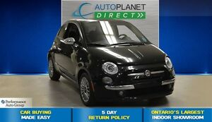 2013 Fiat 500 Lounge, Heated Seats, Sunroof, $32/Wk!