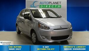 2015 Mitsubishi Mirage ES, Bluetooth, Keyless, $35/Wk!