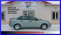 2006 Ford Focus ZX4 SES MODEL!  LOW KM'S!