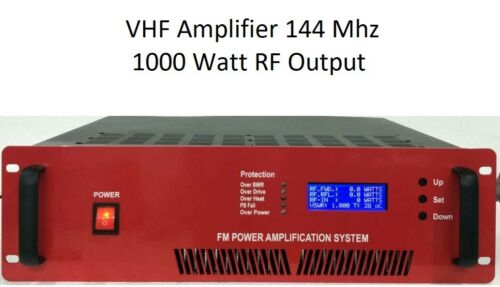 PAVHF-1000W Linear Amplifier 140-150Mhz VHF Amateur Radio  144Mhz