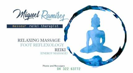 Relaxing and energy massage (REIKI)