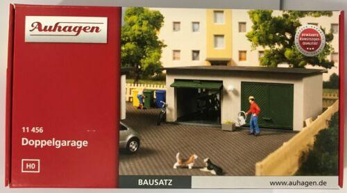Auhagen 11456 Gauge H0 Double Garage # New Original Packaging #