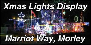2016 XMAS LIGHTS DISPLAY SPECTACULAR Morley Bayswater Area Preview