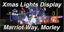 2016 XMAS LIGHTS DISPLAY Morley Bayswater Area Preview