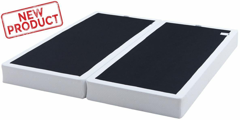 Box Spring 7.5 Metal Bed Mattress Foundation Folding Twin Fu