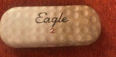 New Catseye London eyeglass case hard. Tin Glasses  Case. Eagle 2 Golf (Catseye Glasses Case)