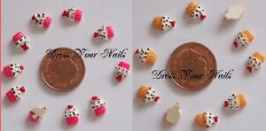 3d-Nail-Art-cupcake-hot-pink-strawberry-cherry-DIY-Craft-Bling-Phone-UK
