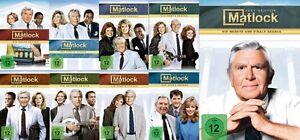 52 DVDs * MATLOCK - SEASON / STAFFEL 1 - 9 IM SET - Andy Griffith # NEU OVP =