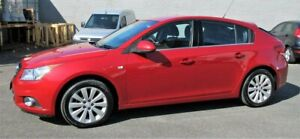 2012 Holden Cruze JH Series II MY12 CDX Red 6 Speed Sports Automatic Hatchback