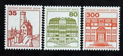 BRIEFMARKE BERLIN DEUTSCHLAND YVERT ET TELLIER N 632 634 N CYN27