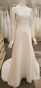 ALFRED SUNG WEDDING GOWN AT OUTLET PRICE