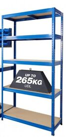 Heavy duty shelving and bench unit