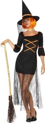 Déguisement Femme SORCIERE Araignée M/L 40/42 Halloween NEUF Pas cher - Halloween Pas Cher