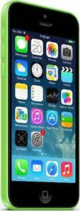 iPhone 5C 16 GB Green Fido -- No questions asked returns for 30 days