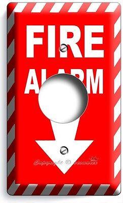 FIRE ALARM DECORATIVE AIR CONDITIONER PLUG WALL PLATE COVER ROOM HOME ART DECOR