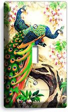 CARDINAL BIRDS MAGNOLIA FLOWERS TREE 2 GANG LIGHT SWITCH WALL PLATES ROOM DECOR