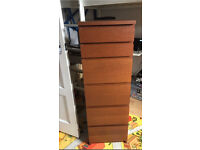 chest of drawers/malm