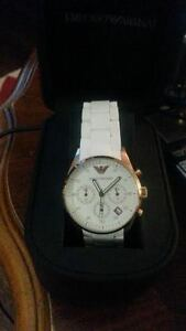 Woman's Emporio Armani Ceramica watch - brand new