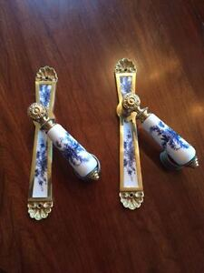 Two Sets of Delft Lever door handles and back plates  $45 Kingston Kingston Area image 4