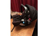 Graco Logico S HP Group 0+ Baby Car Seat - Black - Excellent condition