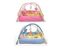 Beautiful Baby Boy/Girl Soft cushioned Play Mat/ Cot Bed With Music/Baby soft toys BRAND NEW