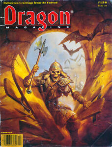 400+ issues THE DRAGON Magazine (RPG Role Playing Games,Dungeons Fantasy) on DVD