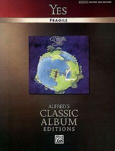 YES - STEVE HOWE FRAGILE GUITAR TAB MUSIC SONG BOOK NEW