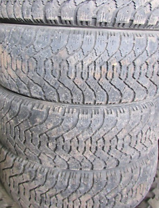 TIRES 16 INCH 75%===205=55=16===(((4TIRES)))Goodyear Nordic WINT