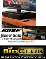 NEW BOSE SOLO 10 TV HIGH-DEF SOUND SYSTEM 300