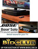 NEW BOSE SOLO 10 TV HIGH-DEF SOUND SYSTEM