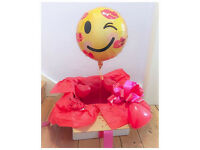 VALENTINES BALLOON IN A BOX DELIVERY