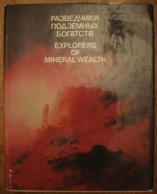 1984 Soviet Photo Album  Explorers Of Mineral Wealth  Ussr Geology