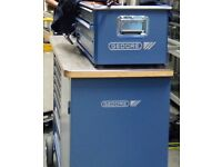 Gedore 1504, Gedore 1430 Tool workbench, Record vice mounted