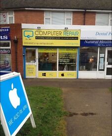 """Established PC and Apple Mac workshop available for """"turn the key"""" hand over..."""