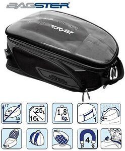 sac sacoche de r servoir magnetique moto bagster discover 16 27 l noir. Black Bedroom Furniture Sets. Home Design Ideas
