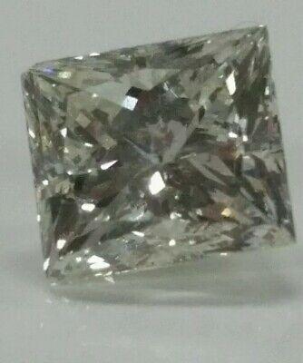 - Loose diamonds princess cut 1.26ct light treatment F color VS2 quality  6x5.5mm