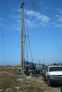 Water Well Drilling Rig and Equipment