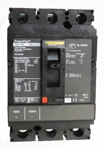 Square D Hgl36150 - New Surplus