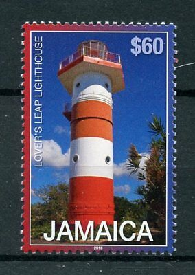 Jamaica 2018 MNH Lover's Leap Lighthouse Lighthouses Def. R/P 1v Set Stamps