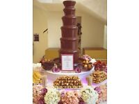 Sweet Butterfly Hire Service, Candy Buffet, Candyfloss, Chocolate Fountain, Ice cream, Popcorn