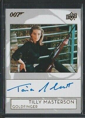 2019 Upper Deck James Bond Collection Tania Mallet Autograph - Tilly Masterson
