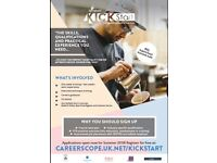 Kickstart Programme - training for 16 - 24 year olds who are unsure of their career path.