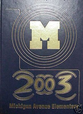 2003 Michigan Avenue Elementary Cleveland Tn Yearbook